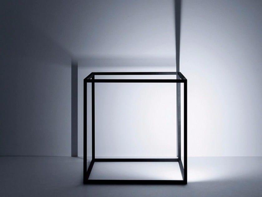 LED metal floor lamp ARIA by DAVIDE GROPPI