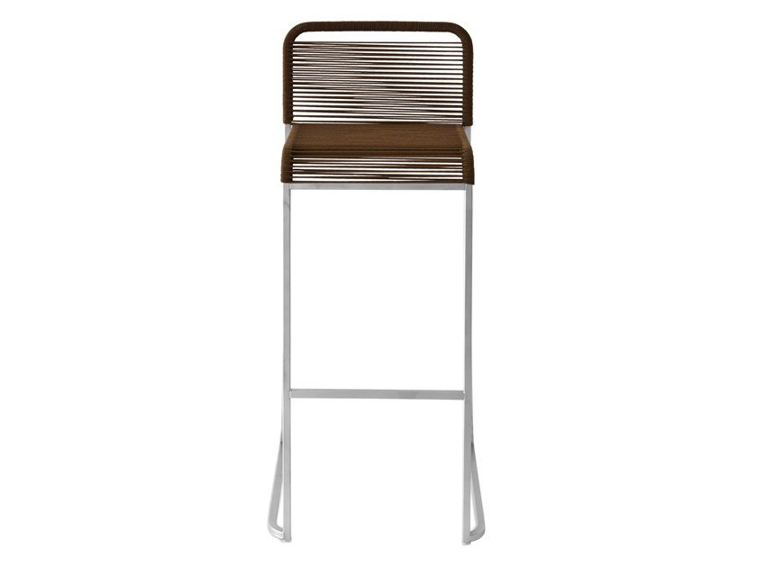 High polyester stool ARIA | High stool by Lapalma