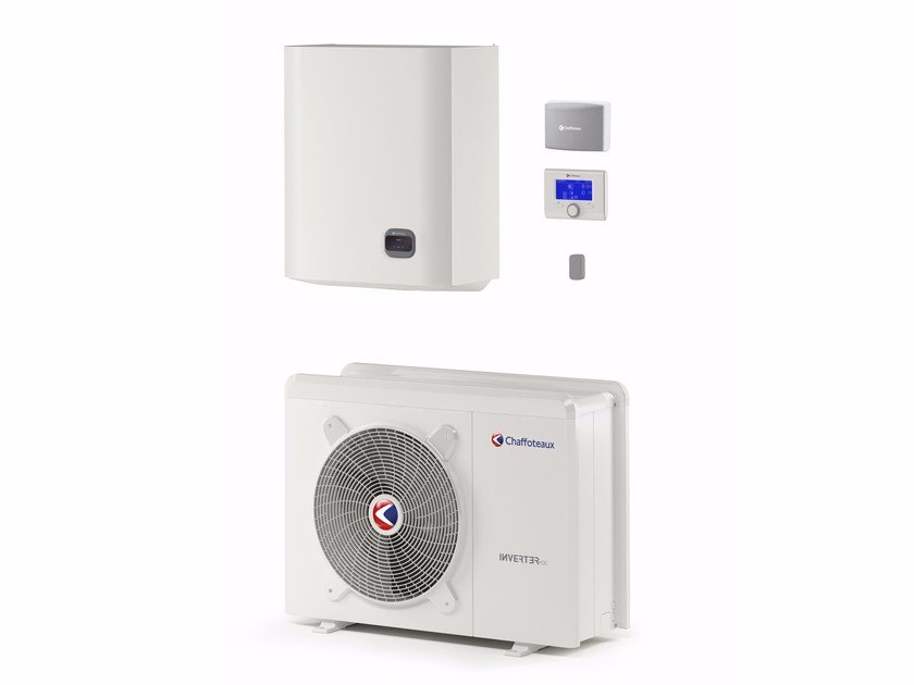 Air to water metal Heat pump ARIANEXT PLUS M LINK by CHAFFOTEAUX