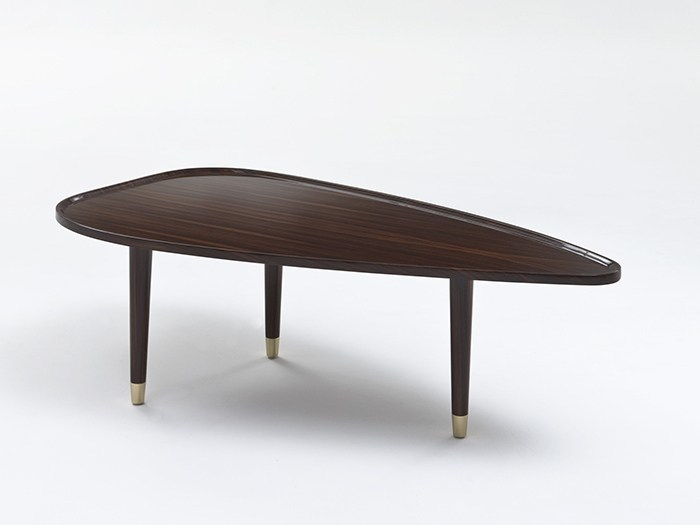 Rosewood coffee table for living room TIVAN by Rozzoni