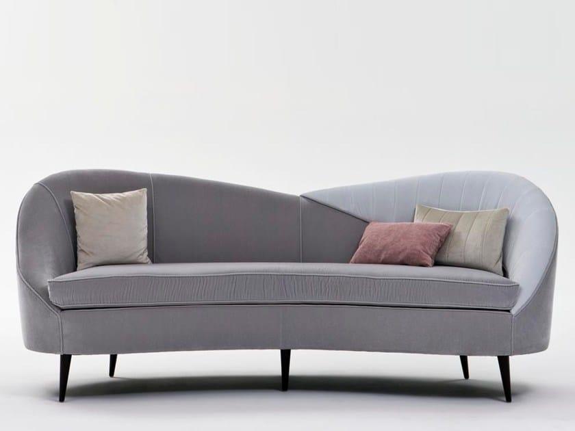 Fabric sofa LIBECCIO by Rozzoni