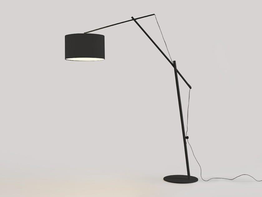 Adjustable metal floor lamp ARIO | Floor lamp by Aromas del Campo
