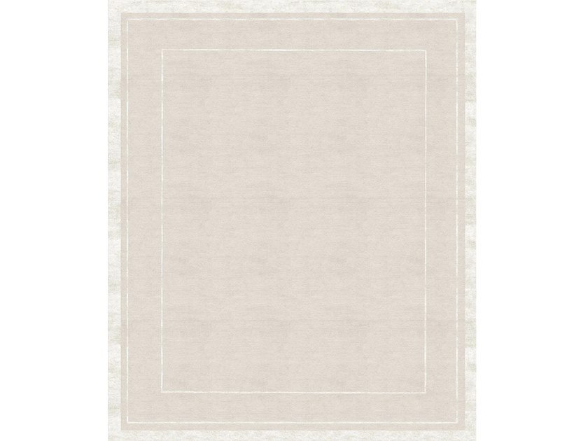 Handmade rectangular rug ARIOSO by Tapis Rouge