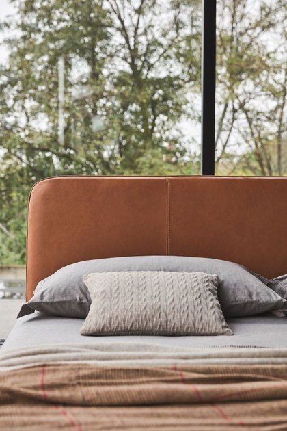 Upholstered Bed With High Headboard With Upholstered Headboard ARIS By Ditre  Italia Design Stefano Spessotto, Lorella Agnoletto