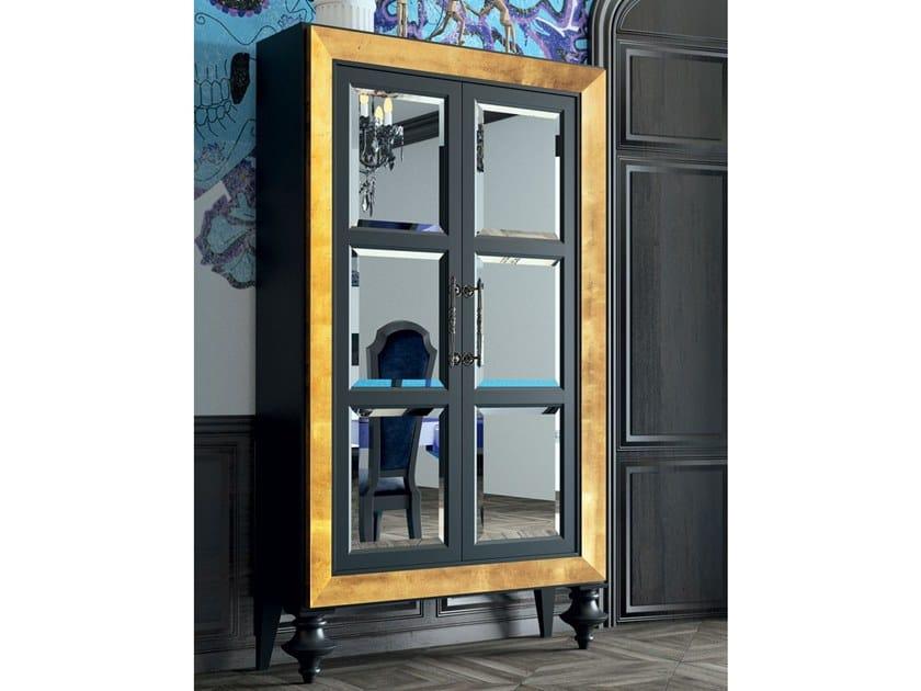 Beech highboard with doors ARISTOCRATIC by BeKreative