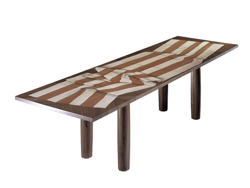 Rectangular wooden dining table ARKADIEN by Draenert
