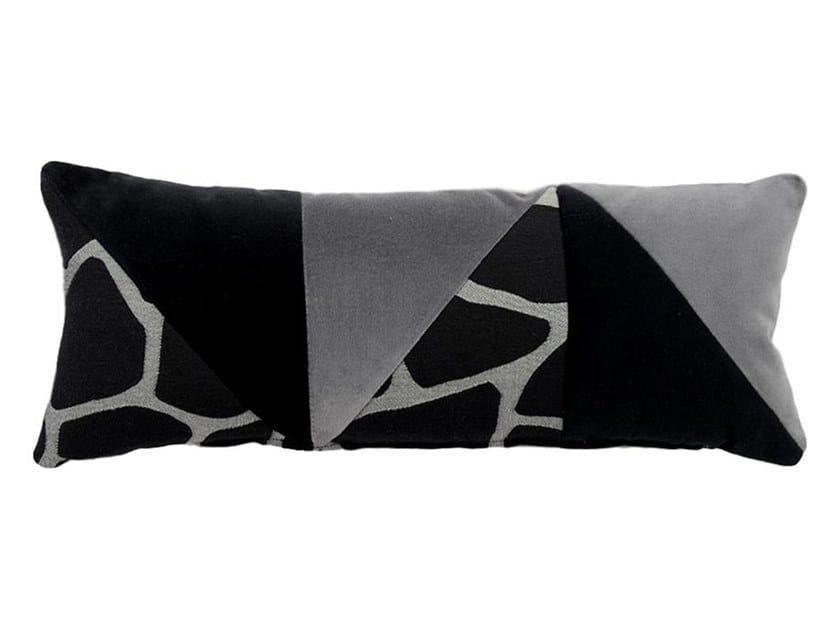 Rectangular fabric cushion ARLECCHINO 086-16 by l'Opificio