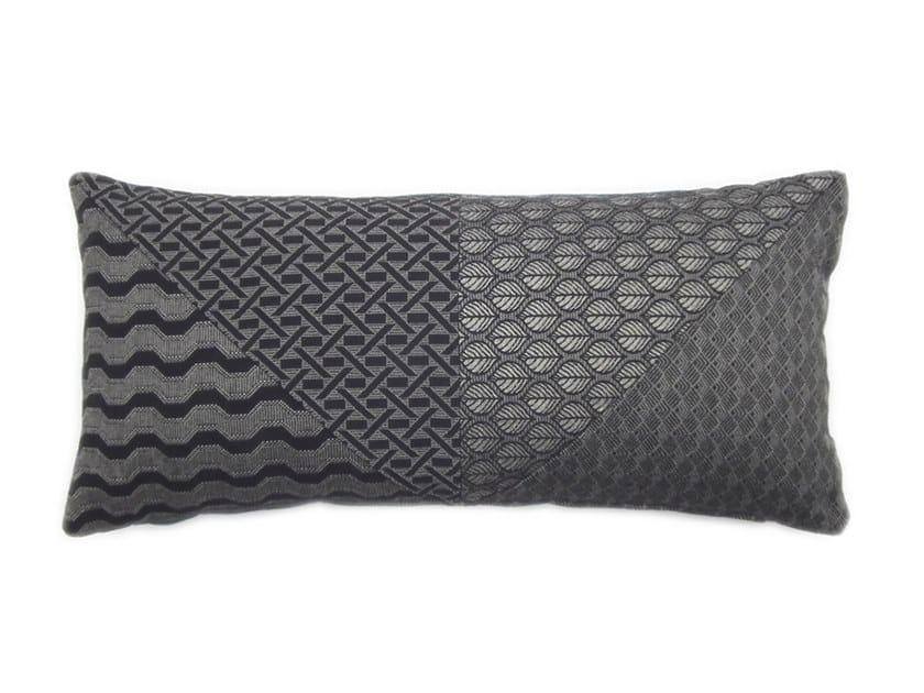 Rectangular fabric cushion ARLECCHINO by l'Opificio
