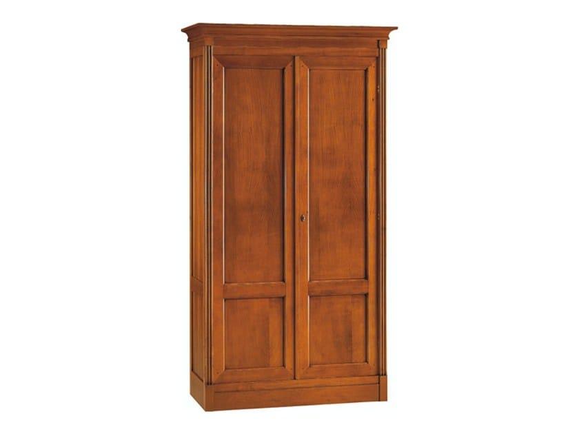 Sectional cherry wood wardrobe DIRETTORIO | Sectional wardrobe by Morelato