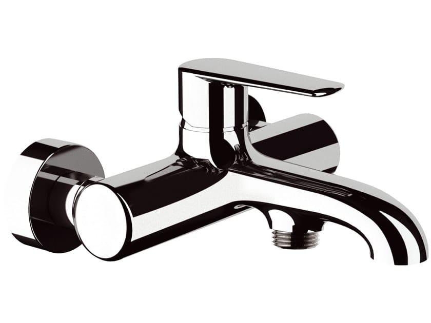 2 hole wall-mounted single handle ABS bathtub mixer ARMONIA   Bathtub mixer by Rubinetterie Mariani