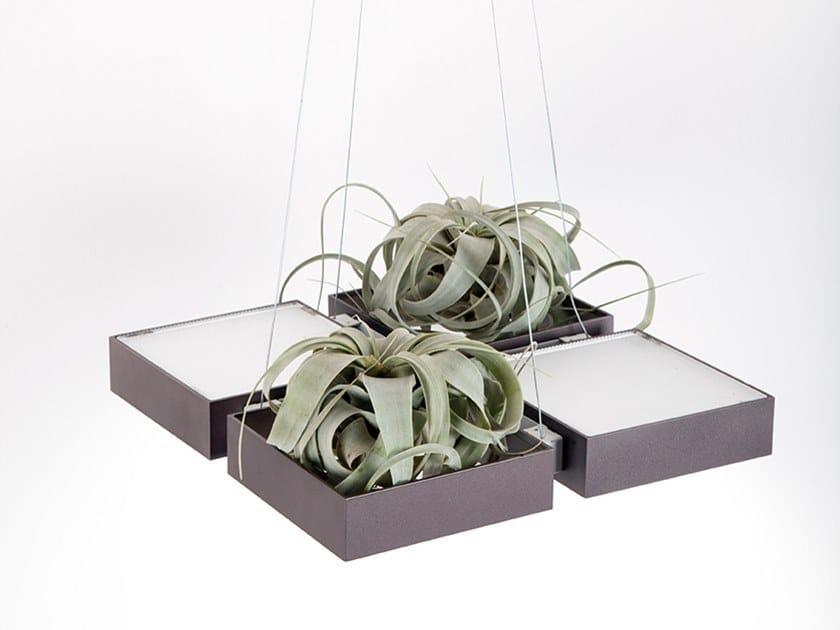 LED aluminium pendant lamp ARMONIA FLORA by ENGI