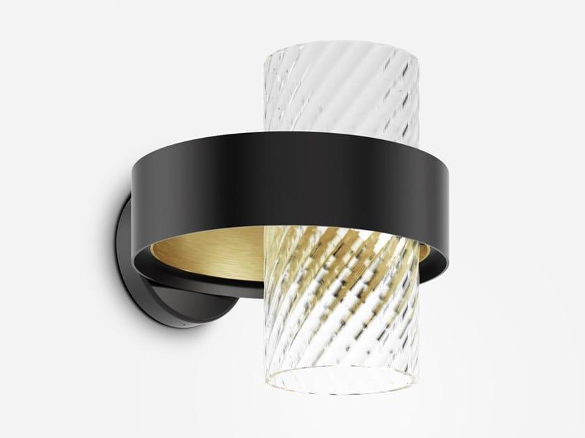 LED direct-indirect light wall lamp ARMONIA | Wall lamp by Vetreria Vistosi