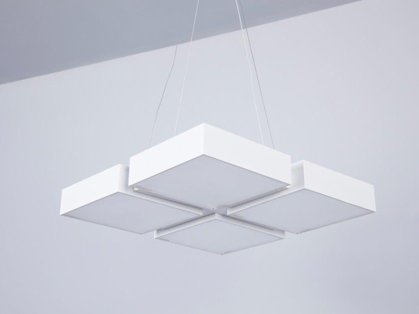 LED aluminium pendant lamp ARMONIA | Pendant lamp by ENGI
