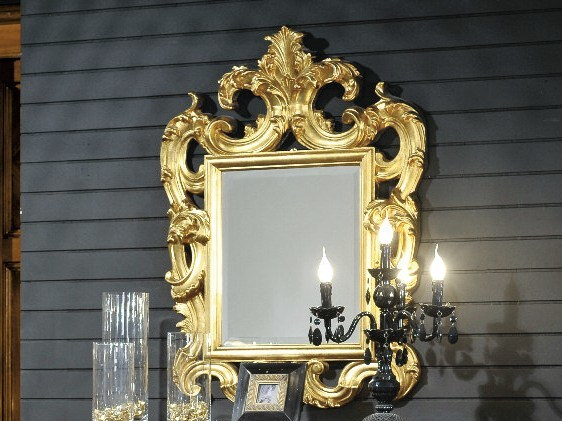 Wall-mounted framed mirror ARMONIE | Mirror by Arvestyle