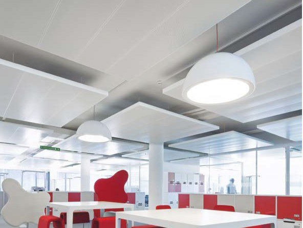 Isole acustiche ARMSTRONG METAL D-CLIP / METAL D-H 700 by Knauf AMF