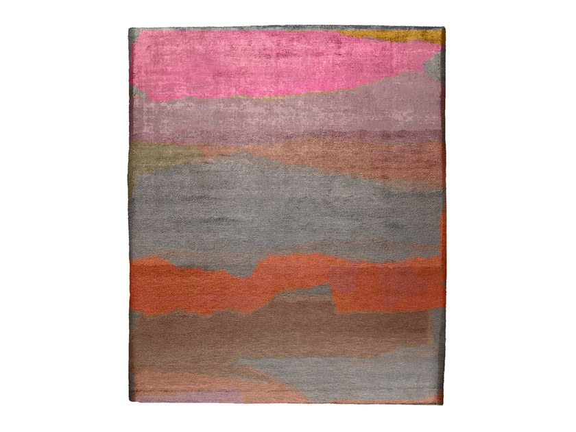 Tapis Arnella Collection Nordic Raw Abstract Action By Henzel