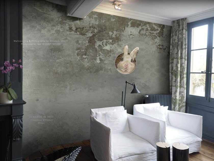 Waterproof wallpaper ARNO DES MURS | Wallpaper by Elisabeth Leroy Collections