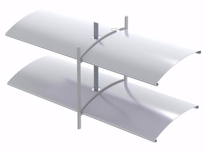 Frangisole scorrevole in alluminio ARO 65 | Frangisole by HELLA