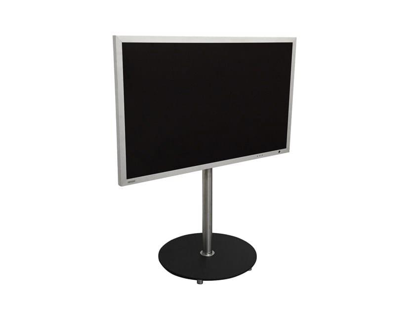 Wissmann Raumobjekte Porta Tv Girevole.Supporto Per Monitor Tv Girevole A Pavimento Aro Art139