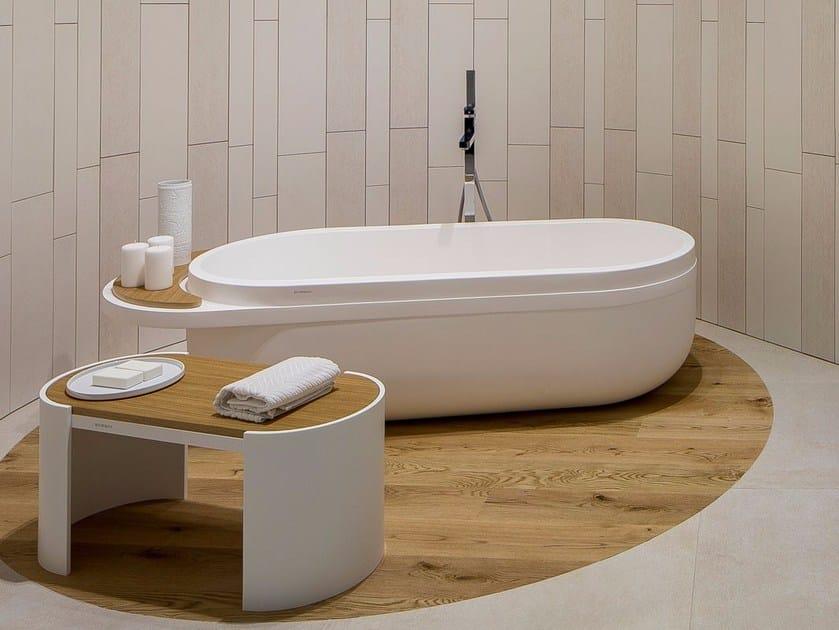 Freestanding oval bathtub ARO | Bathtub by Systempool