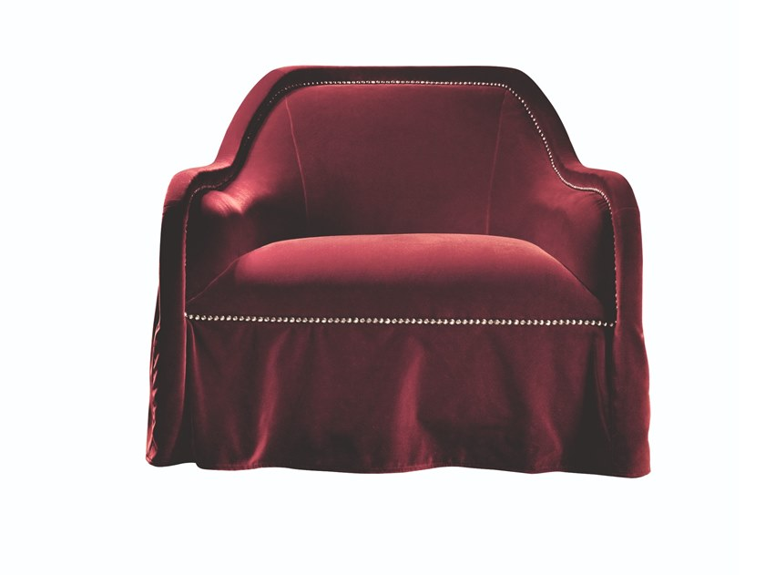 Armchair with armrests ARPÈGE | Armchair by Busnelli