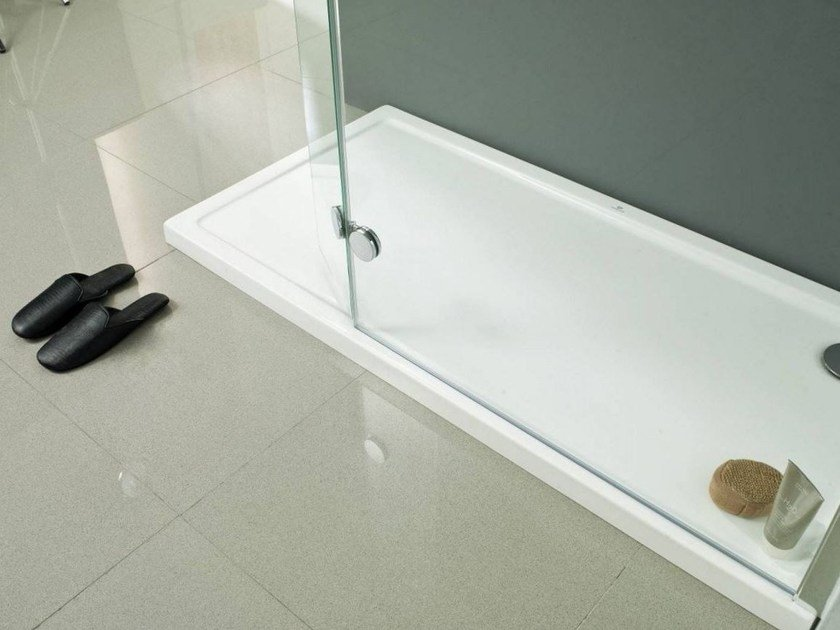Rectangular acrylic shower tray ARQUITECT By Systempool