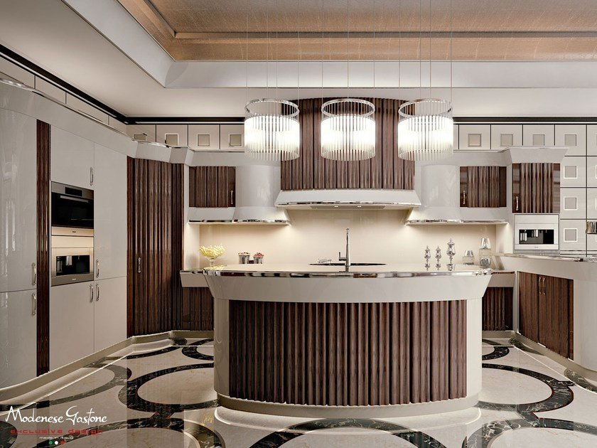 Custom rosewood kitchen ARROGANCE | Rosewood kitchen by Modenese Gastone