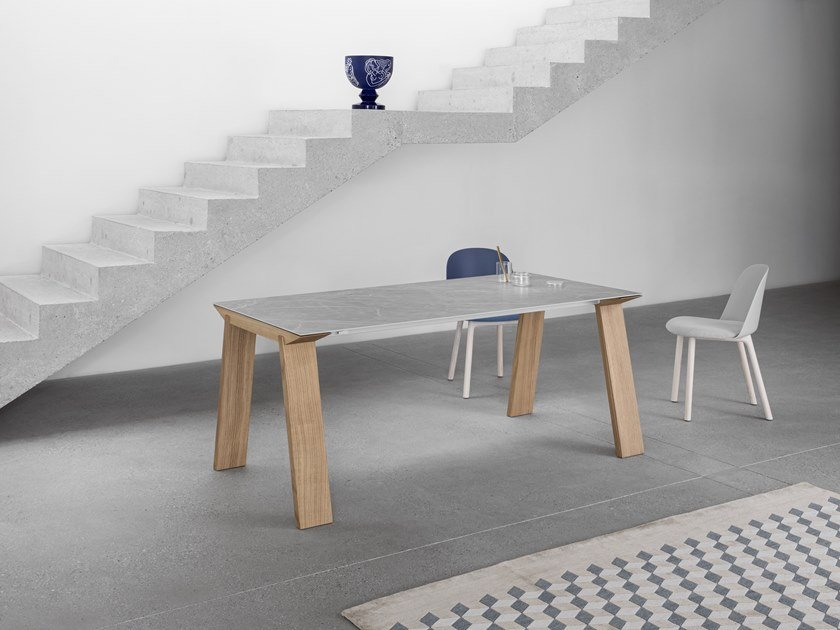 Extending rectangular table ARTÙ by Miniforms