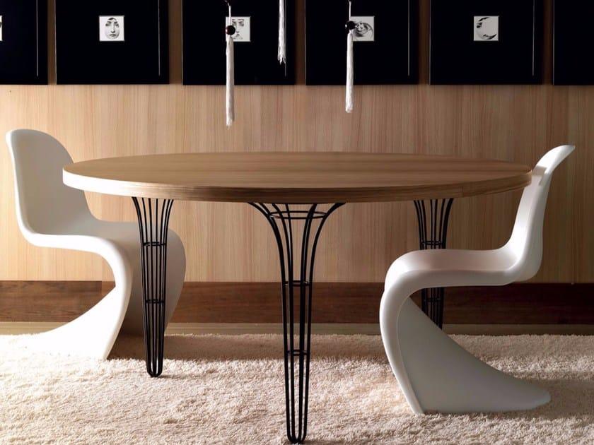 Tavolo Moderno Rettangolare Artu Miniforms : ArtÙ tavolo rotondo by esedra design fabrizio batoni
