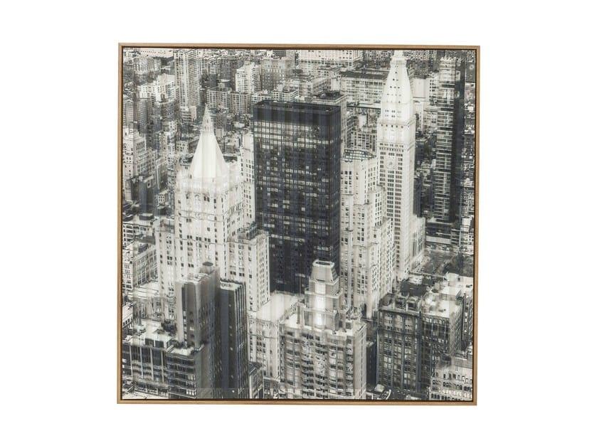 Stampa su carta ART 3D CITY VIEW THREE by KARE-DESIGN