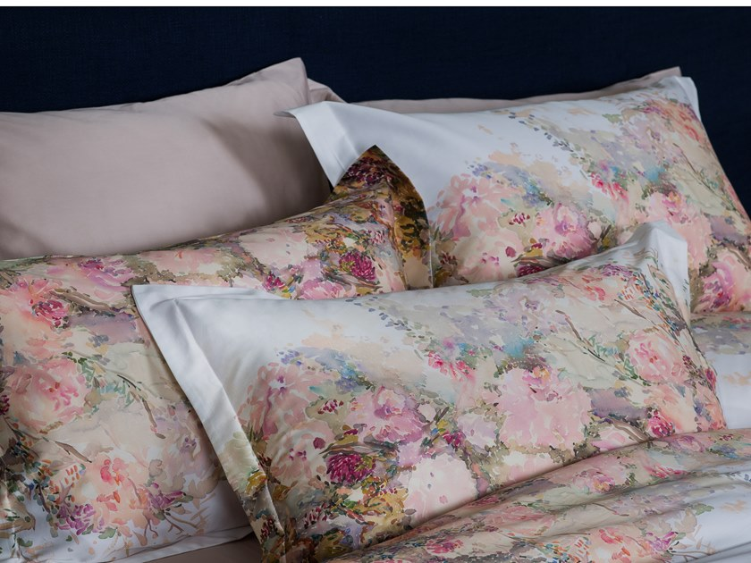 Cotton bedding set with floral pattern ART | Bedding set by Decoflux