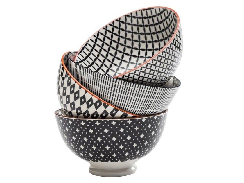 Porcelain bowl ART CUISINE | Bowl by KARE-DESIGN