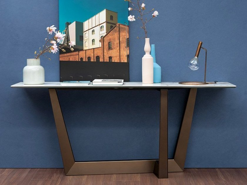 Rectangular console table ART | Console table by Bonaldo