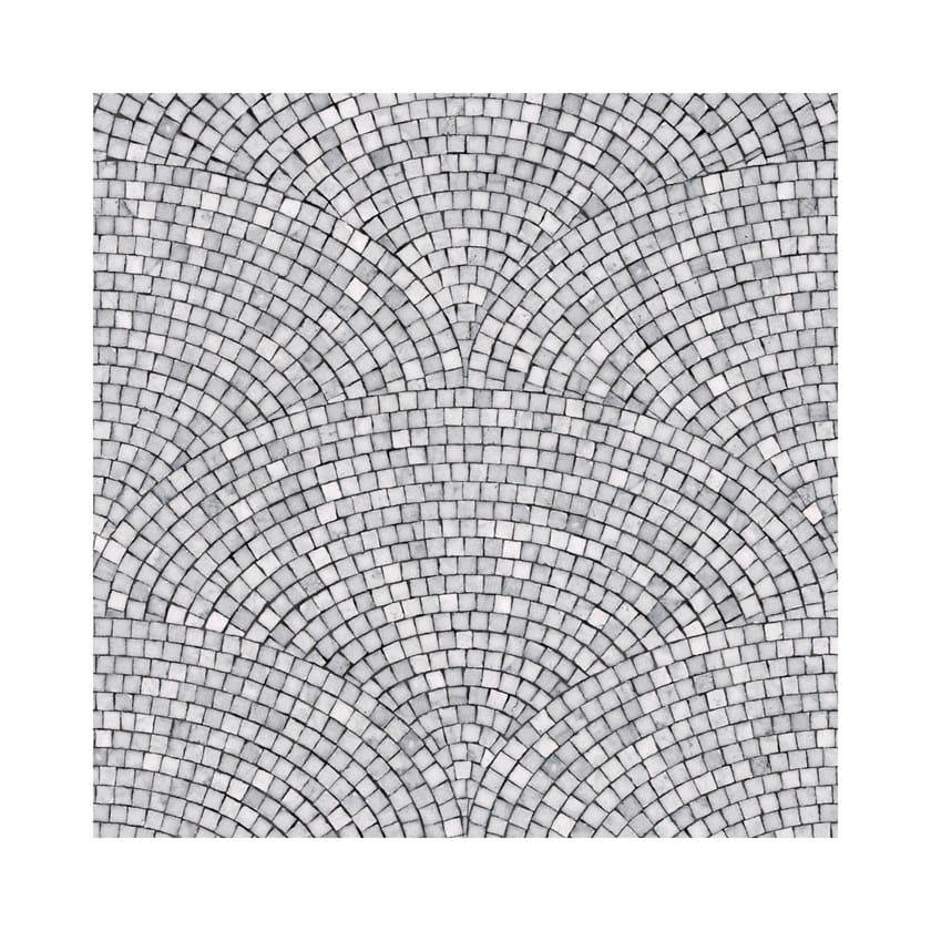ART DECO MOSAIC DARK GREY | Carta da parati