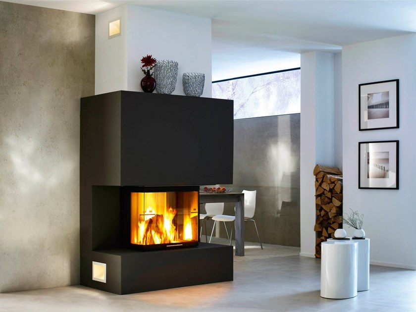 Wood-burning Fireplace insert ARTE 3RL-60H by SPARTHERM