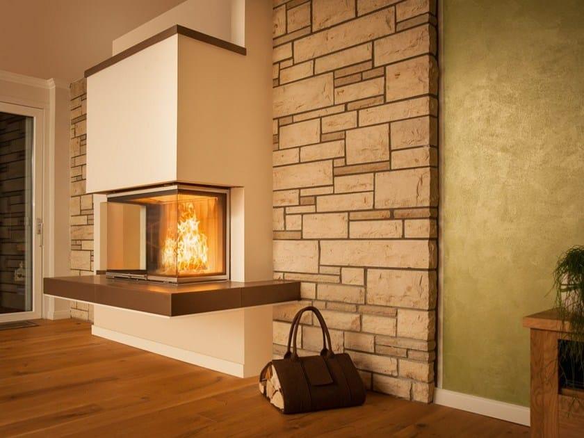 wood burning fireplace insert arte 3rl 80h by spartherm. Black Bedroom Furniture Sets. Home Design Ideas