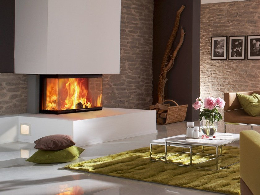 Wood-burning Fireplace insert ARTE 3RL-80H by SPARTHERM