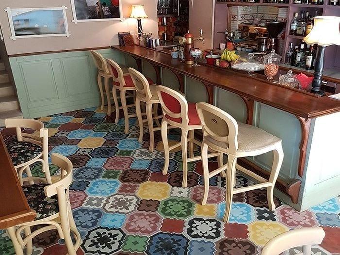 Indoor/outdoor cement wall/floor tiles ARTEMIS MIX by TsourlakisTiles