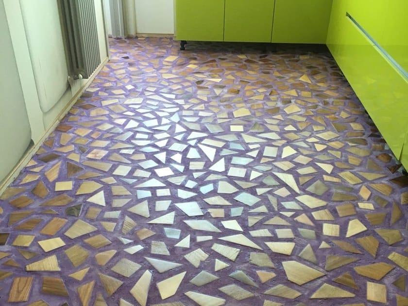 Ecologic resin wall/floor tiles ARTEVIVA FUSION by Arte Viva