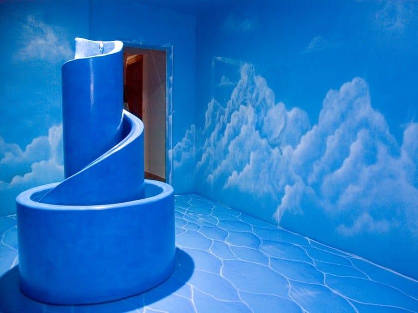 Ecologic resin wall/floor tiles ARTEVIVA EXTRO by Arte Viva