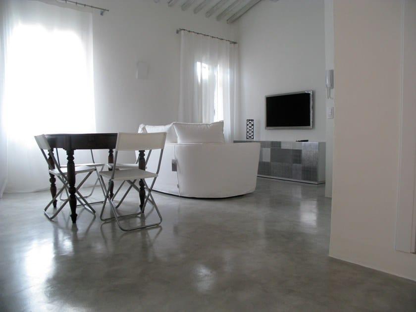Ecologic resin wall/floor tiles ARTEVIVA METAL by Arte Viva