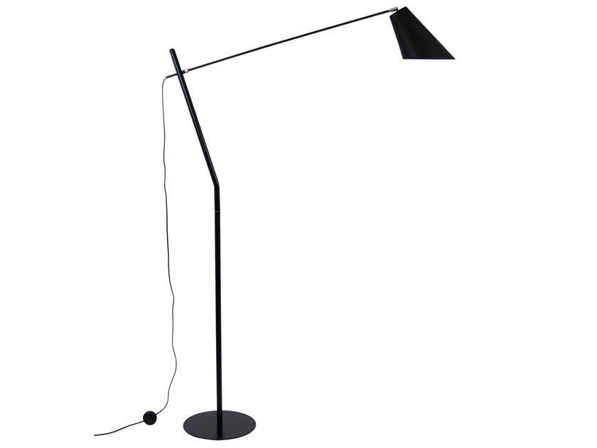 Direct light metal floor lamp ARTIC | Floor lamp by LUZ EVA