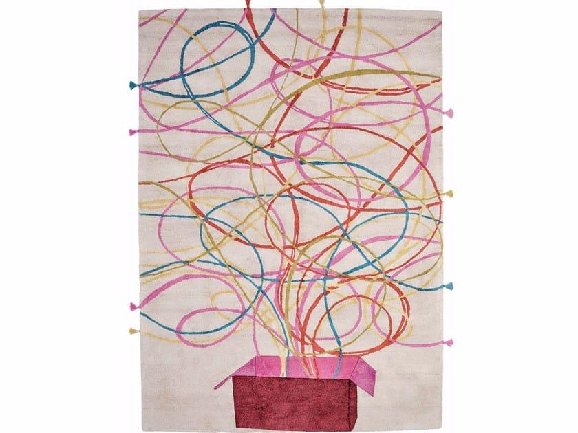 Rectangular silk rug CAPRICCIO by Italy Dream Design