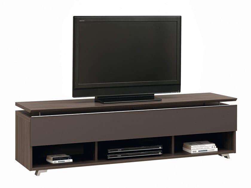 Low wooden TV cabinet ARTIGO   TV cabinet by GAUTIER FRANCE