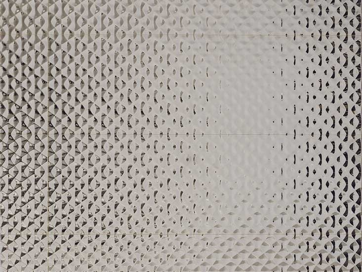 3D Wall Cladding with metal effect ARTIS SILVER by Venis