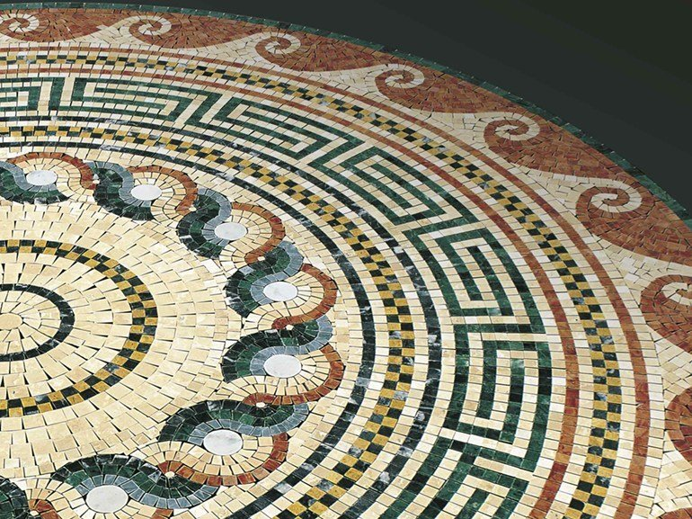 Marble mosaic ARTISTIC CLASSIC - ZEUS by Lithos Mosaico Italia