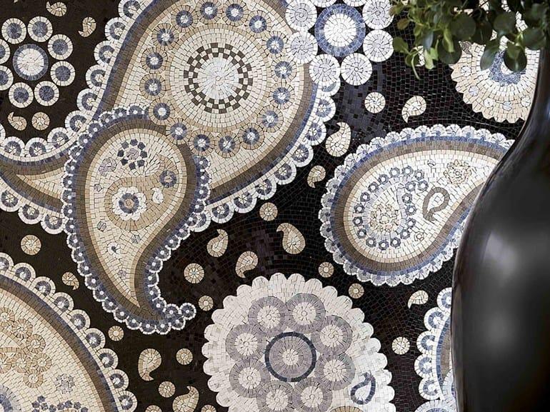 Marble mosaic ARTISTIC CONTEMPORARY - ARTISTIC PAISLEY by Lithos Mosaico Italia