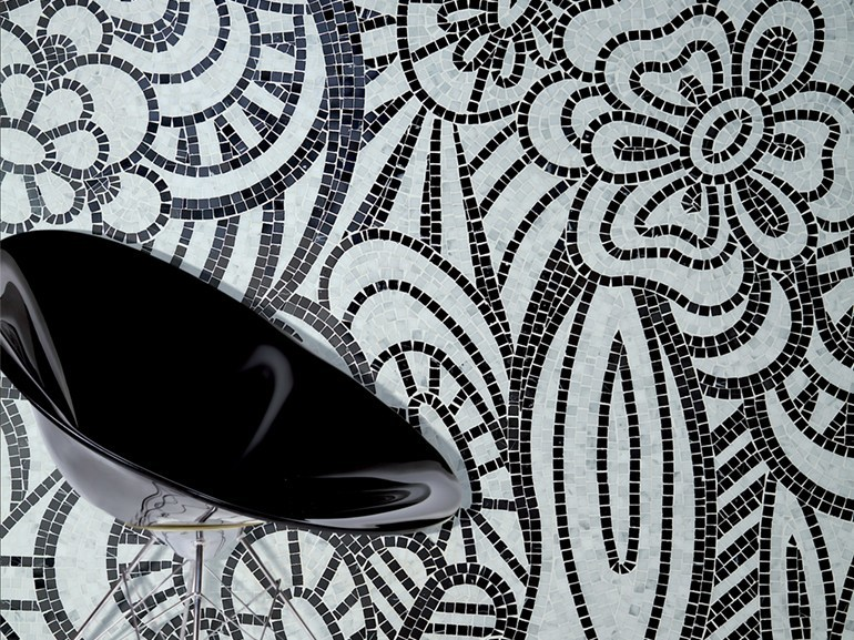 Marble mosaic ARTISTIC CONTEMPORARY - DREAMS by Lithos Mosaico Italia