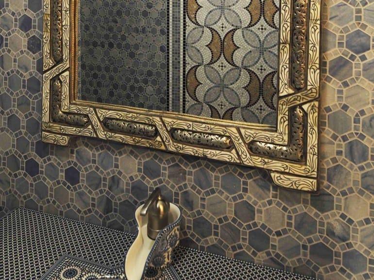 Marble mosaic ARTISTIC CONTEMPORARY - ESAGONO ESAGONO by Lithos Mosaico Italia