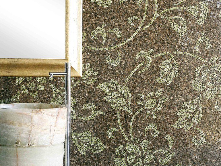Marble mosaic ARTISTIC CONTEMPORARY - GLAMOUR by Lithos Mosaico Italia